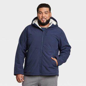Men's Softshell Sherpa Jacket Size 2XB